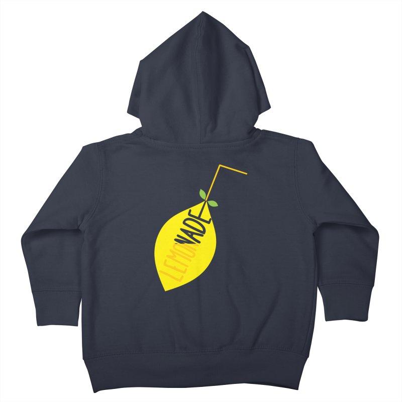 Let's Drink Lemonade! Kids Toddler Zip-Up Hoody by Avo G'day!