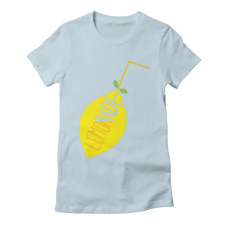 Let's Drink Lemonade! Women's T-Shirt by Avo G'day!