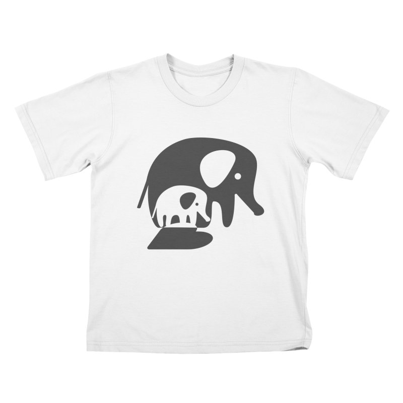 Love Elephants Kids Toddler T-Shirt by Avo G'day!