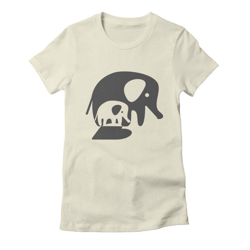 Love Elephants Women's T-Shirt by Avo G'day!