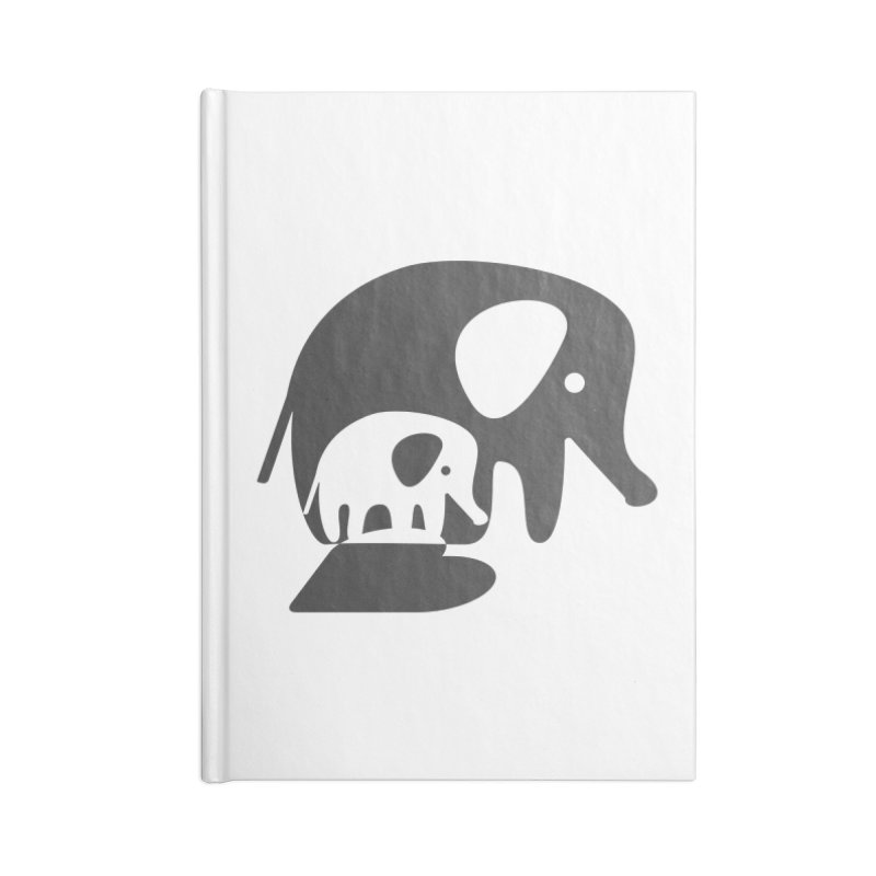 Love Elephants Accessories Blank Journal Notebook by Avo G'day!