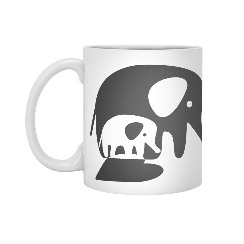 Love Elephants Accessories Standard Mug by Avo G'day!