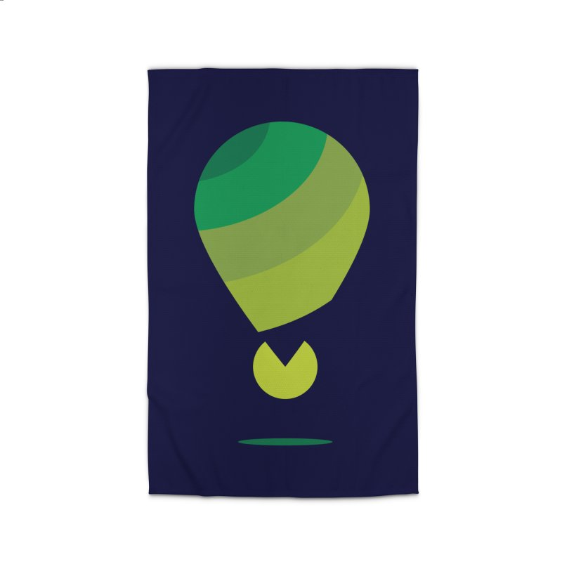 Midnight Hot Air Balloon Home Rug by Avo G'day!