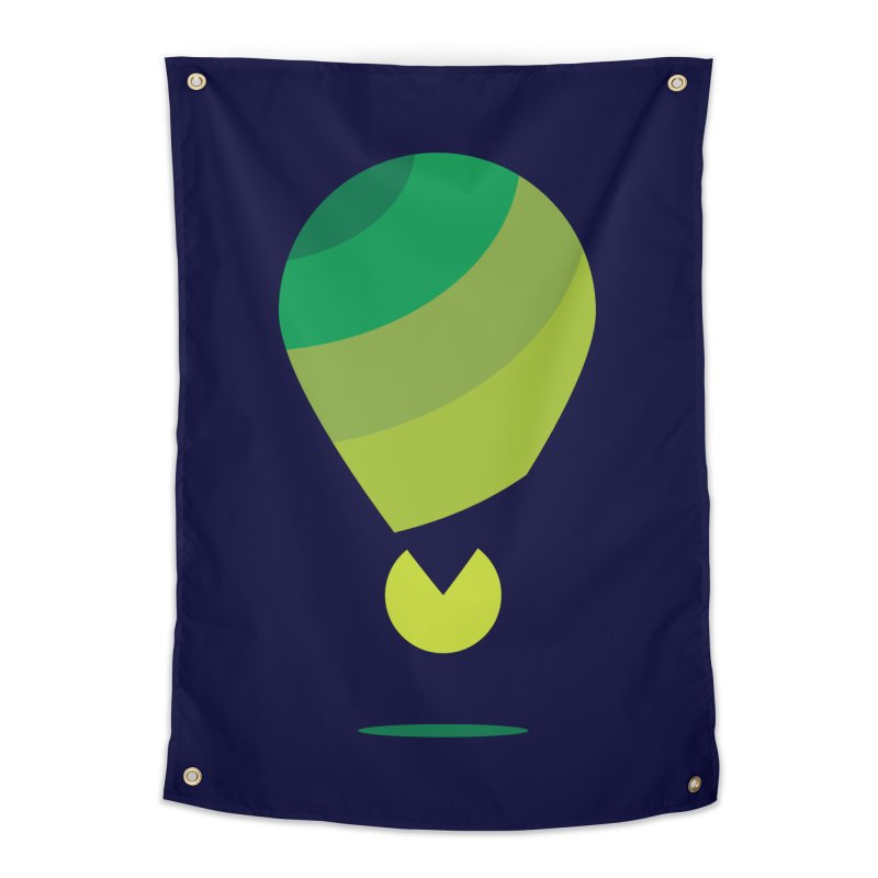 Midnight Hot Air Balloon Home Tapestry by Avo G'day!