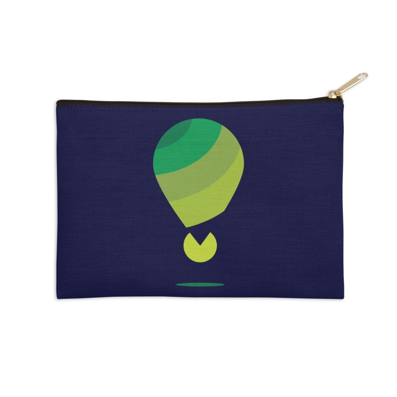 Midnight Hot Air Balloon Accessories Zip Pouch by Avo G'day!