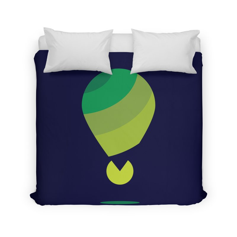 Midnight Hot Air Balloon Home Duvet by Avo G'day!