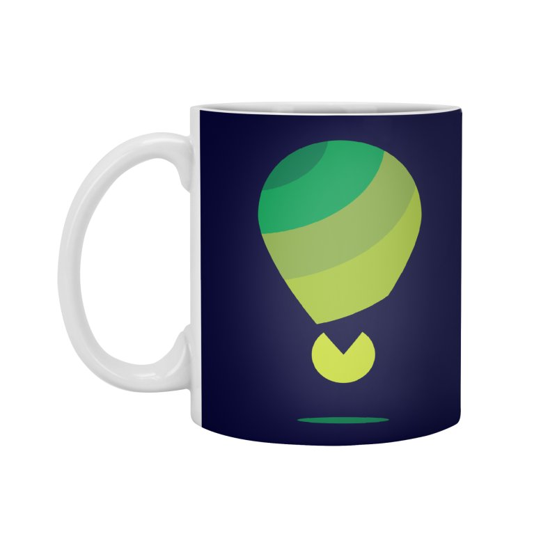 Midnight Hot Air Balloon Accessories Standard Mug by Avo G'day!