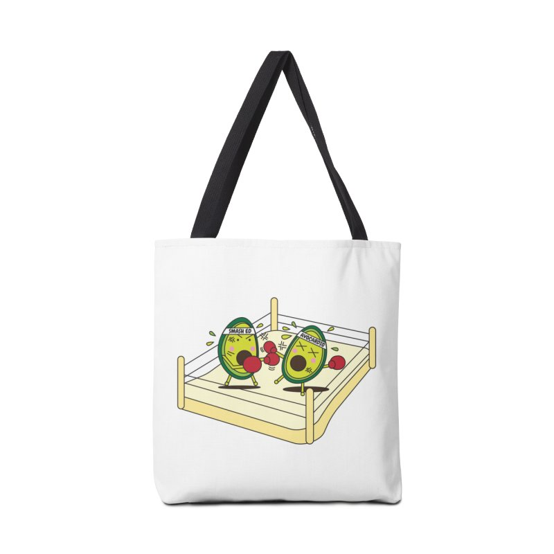 Smashed Avocado on Toast Accessories Tote Bag Bag by Avo G'day!