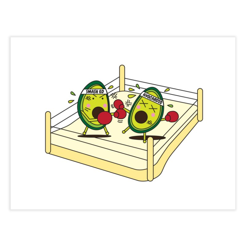 Smashed Avocado on Toast Home Fine Art Print by Avo G'day!