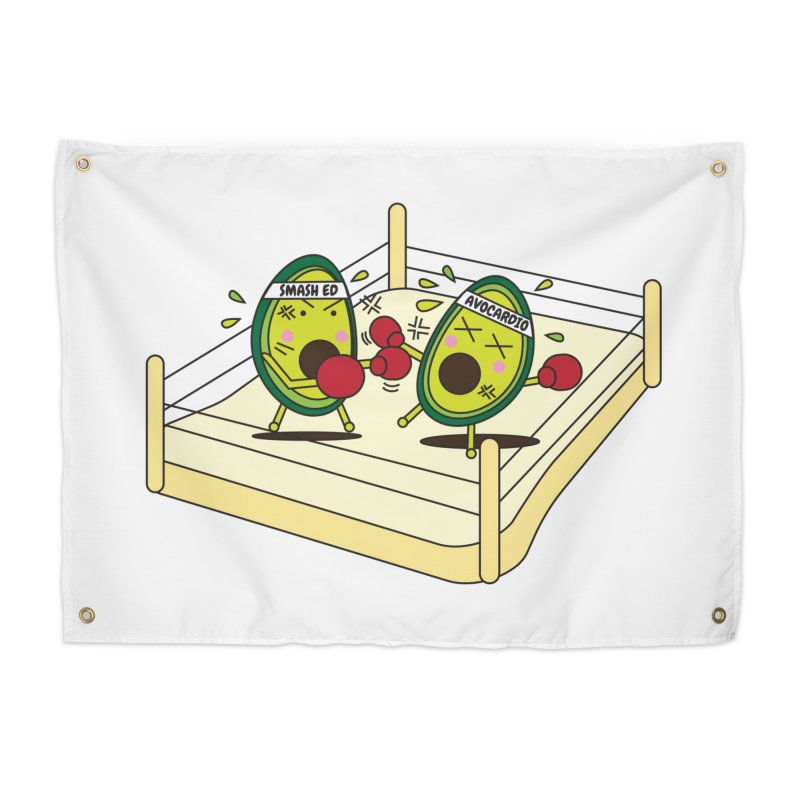 Smashed Avocado on Toast Home Tapestry by Avo G'day!