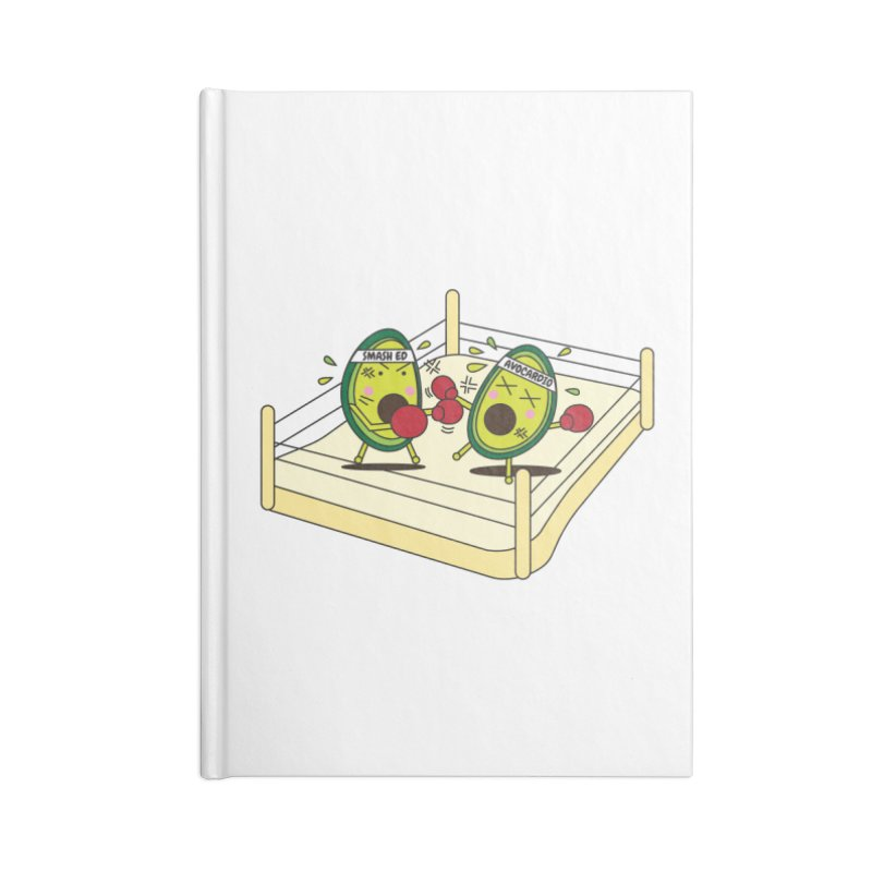 Smashed Avocado on Toast Accessories Blank Journal Notebook by Avo G'day!