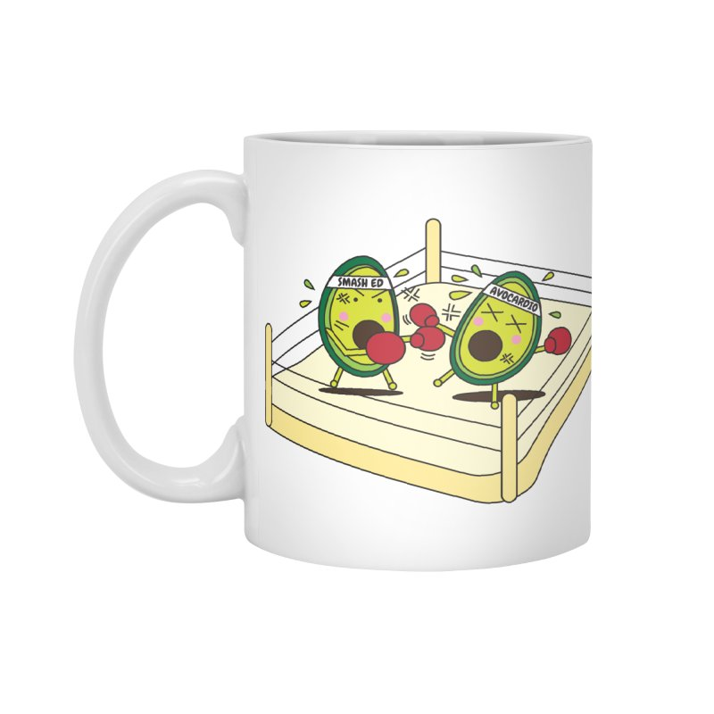 Smashed Avocado on Toast Accessories Standard Mug by Avo G'day!