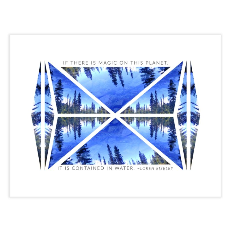 Magic in the Water Home Fine Art Print by Graphic Art by Sarah Sorden