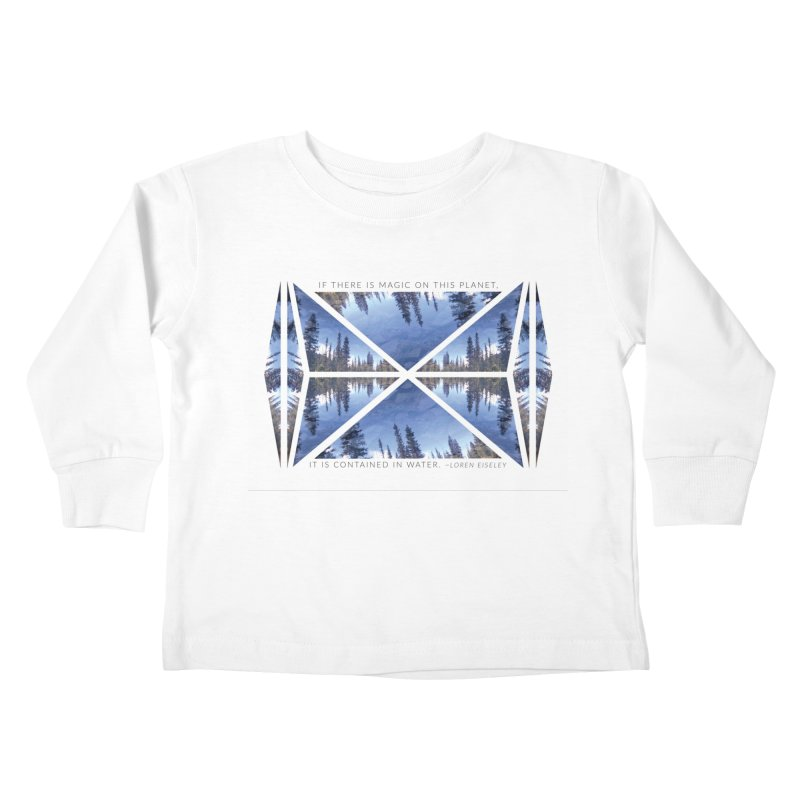 Magic in the Water Kids Toddler Longsleeve T-Shirt by Graphic Art by Sarah Sorden