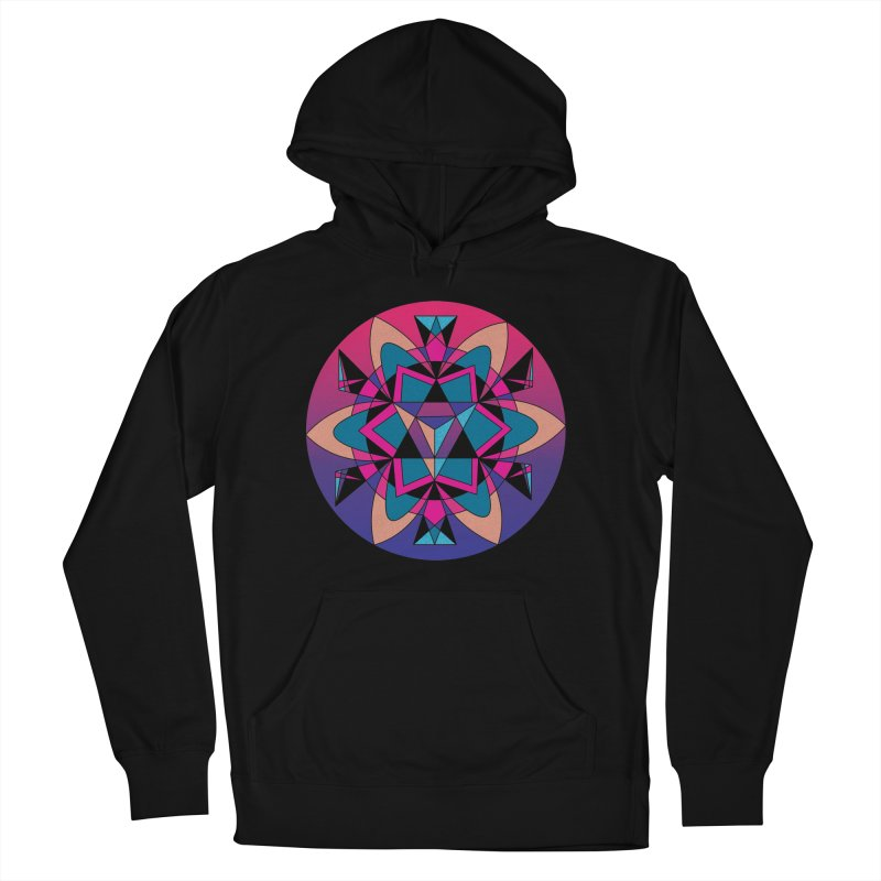 New Mexico Men's Pullover Hoody by Graphic Art by Sarah Sorden
