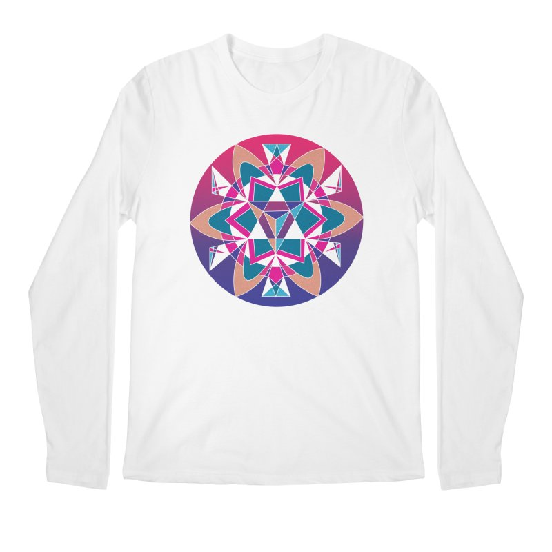 New Mexico Men's Longsleeve T-Shirt by Graphic Art by Sarah Sorden
