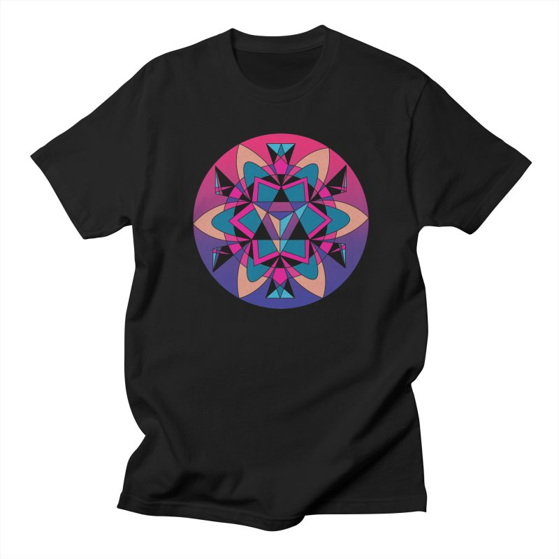 New Mexico Men's T-shirt by Graphic Art by Sarah Sorden