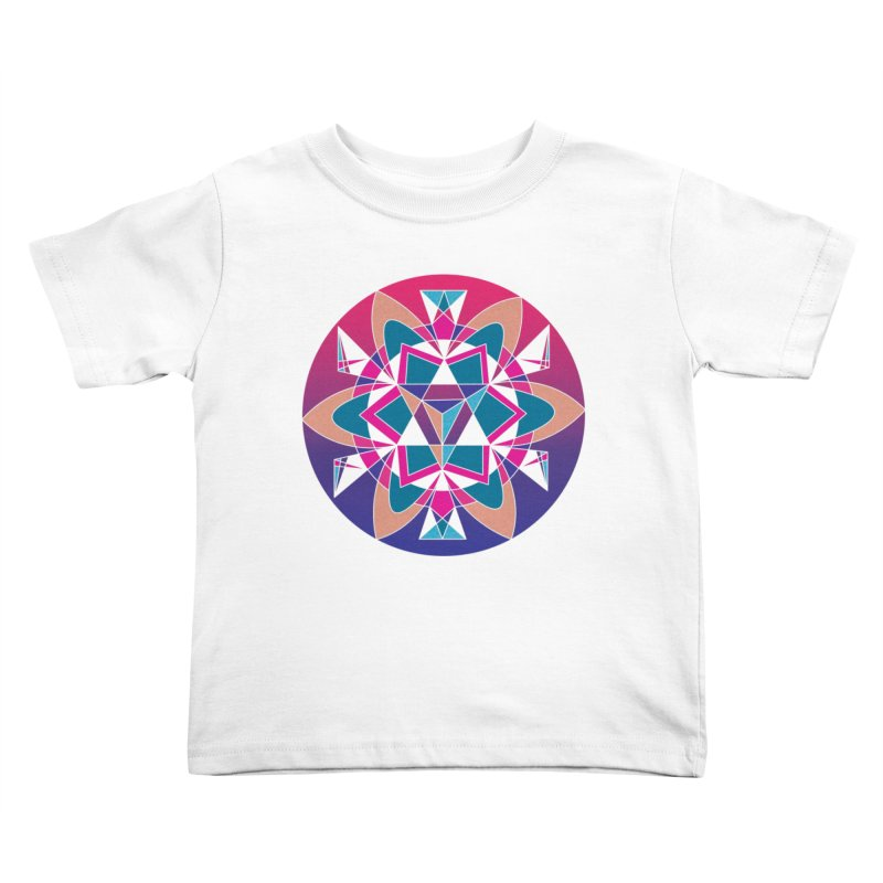 New Mexico Kids Toddler T-Shirt by Graphic Art by Sarah Sorden