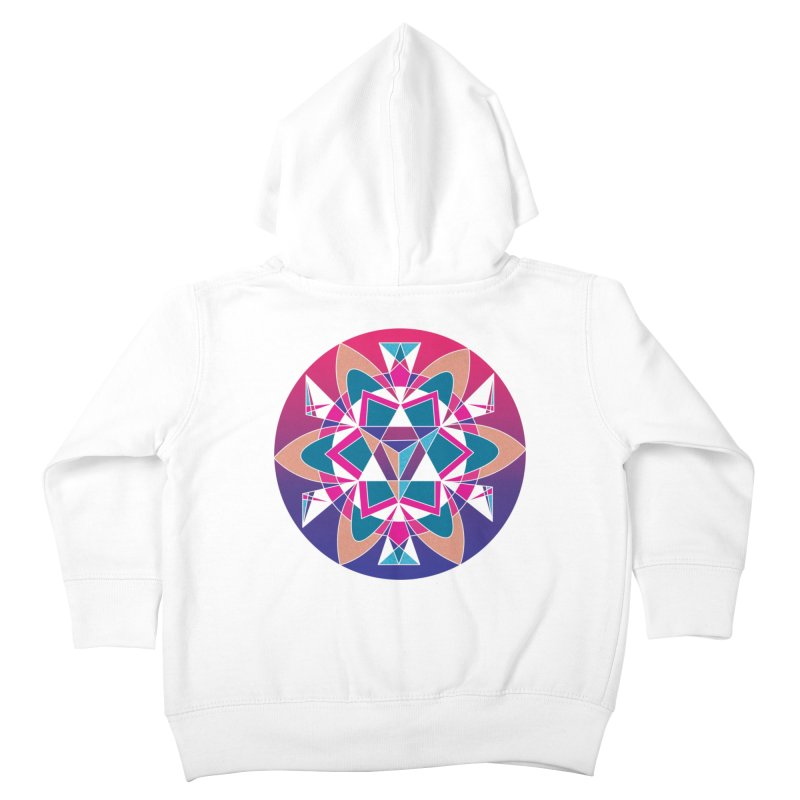New Mexico Kids Toddler Zip-Up Hoody by Graphic Art by Sarah Sorden