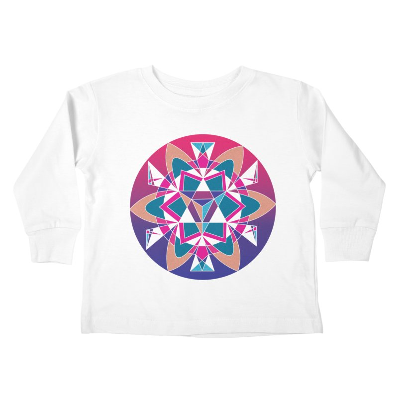 New Mexico Kids Toddler Longsleeve T-Shirt by Graphic Art by Sarah Sorden