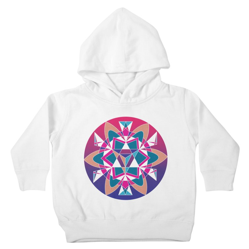 New Mexico Kids Toddler Pullover Hoody by Graphic Art by Sarah Sorden