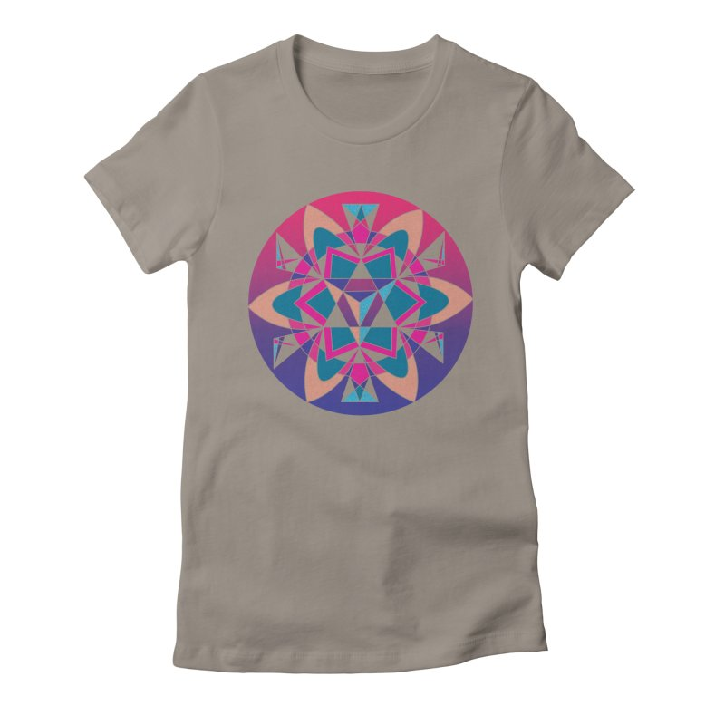 New Mexico Women's Fitted T-Shirt by Graphic Art by Sarah Sorden