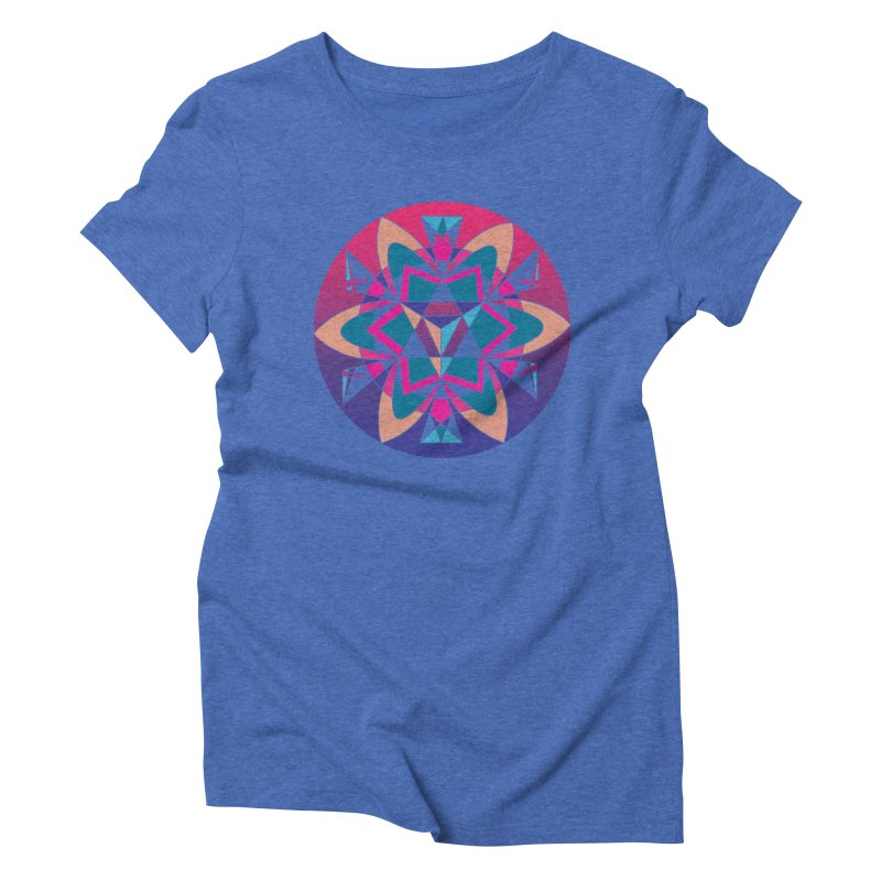 New Mexico Women's Triblend T-Shirt by Graphic Art by Sarah Sorden