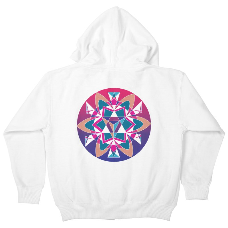 New Mexico Kids Zip-Up Hoody by Graphic Art by Sarah Sorden