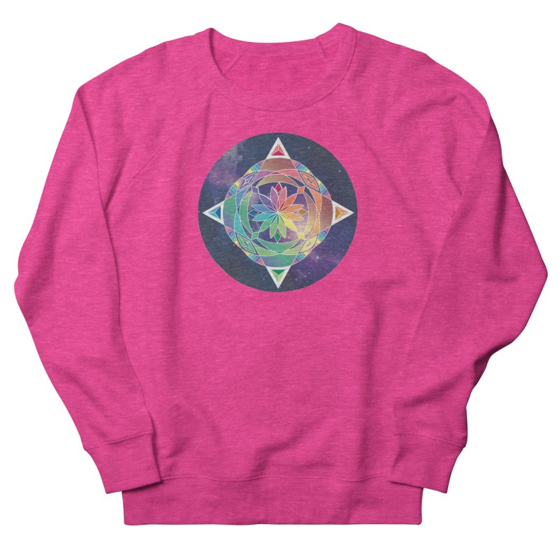Space Unicorn Women's Sweatshirt by Graphic Art by Sarah Sorden