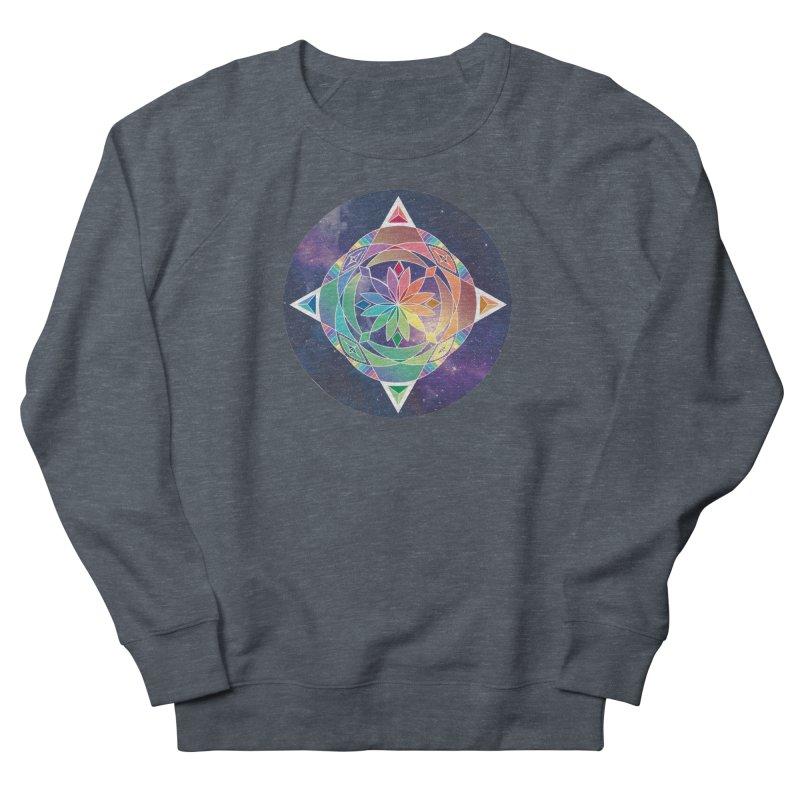 Space Unicorn Men's Sweatshirt by Graphic Art by Sarah Sorden