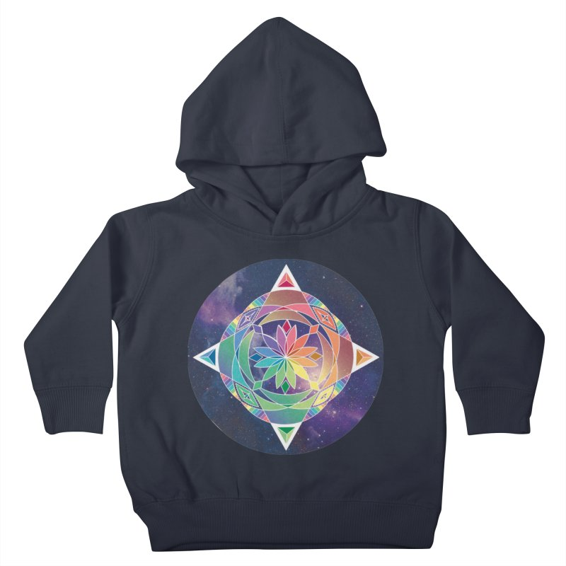 Space Unicorn Kids Toddler Pullover Hoody by Graphic Art by Sarah Sorden