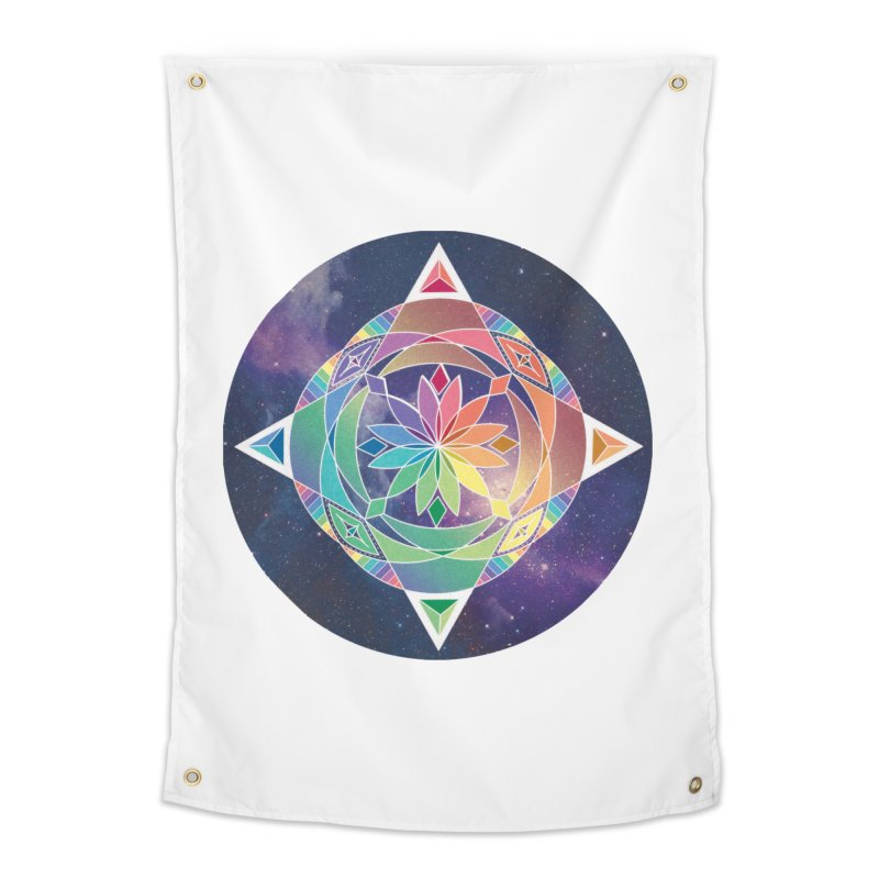 Space Unicorn Home Tapestry by Graphic Art by Sarah Sorden