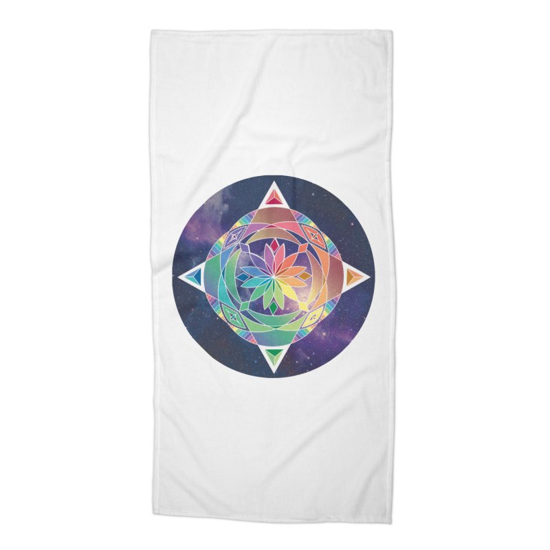 Space Unicorn Accessories Beach Towel by Graphic Art by Sarah Sorden