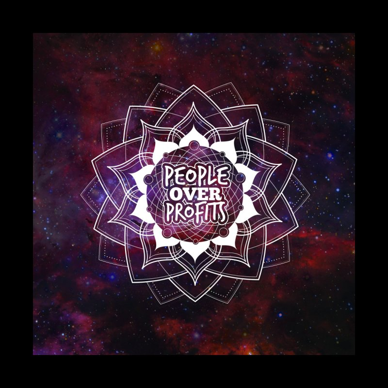 People Over Profits Print by Graphic Art by Sarah Sorden
