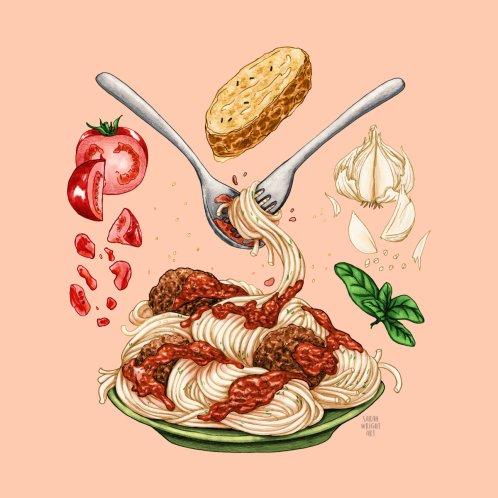 Design for Spaghetti Mandala