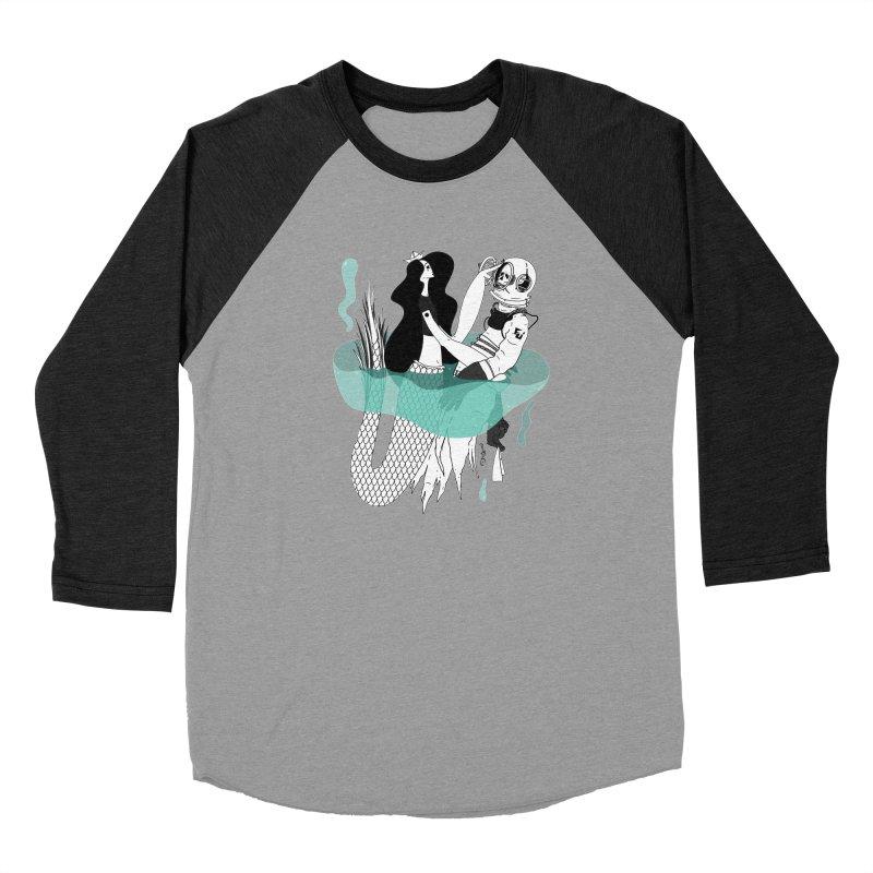 Serene of Solitude Vol. I by Sardine Women's Baseball Triblend Longsleeve T-Shirt by Sardine