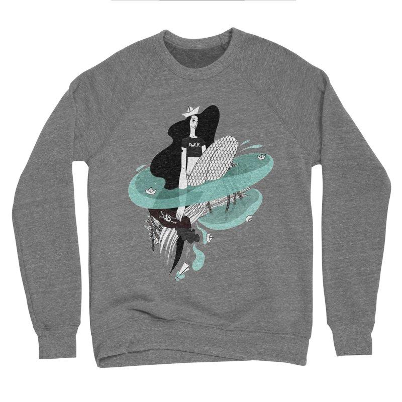 Siren Of Solitude Vol. II by Sardine Men's Sponge Fleece Sweatshirt by Sardine