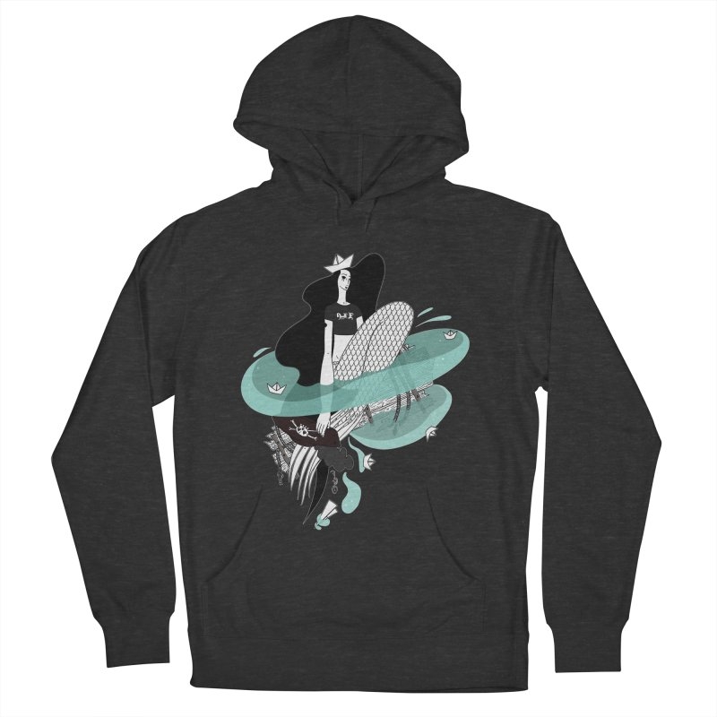 Siren Of Solitude Vol. II by Sardine Men's French Terry Pullover Hoody by Sardine