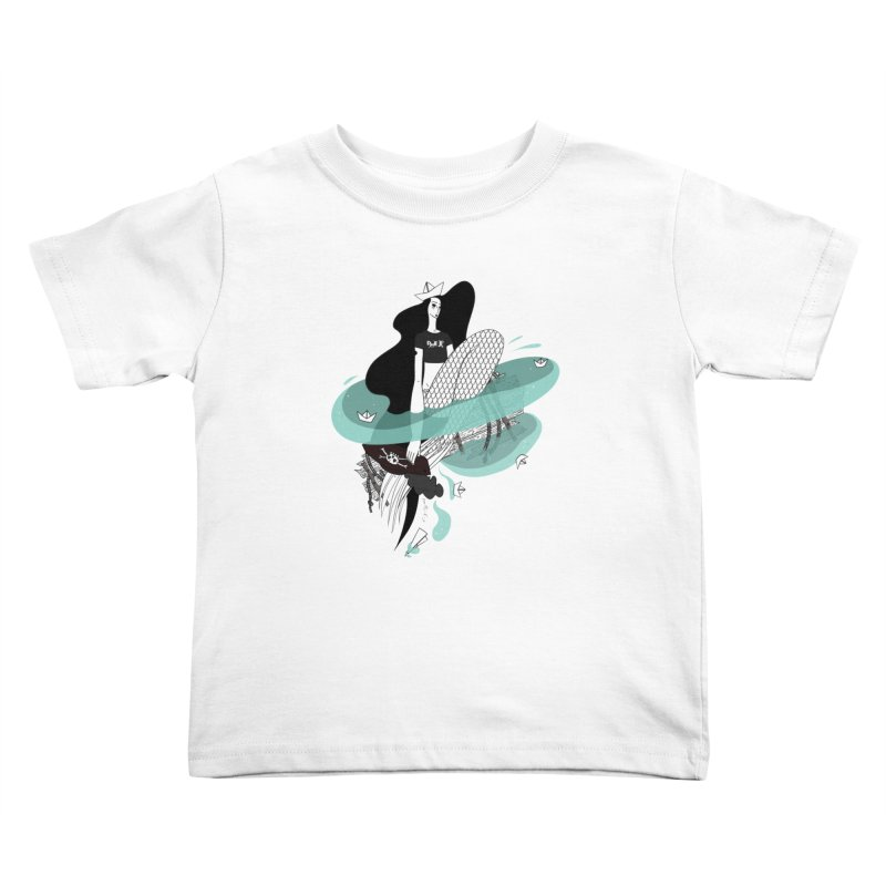 Siren Of Solitude Vol. II by Sardine Kids Toddler T-Shirt by Sardine