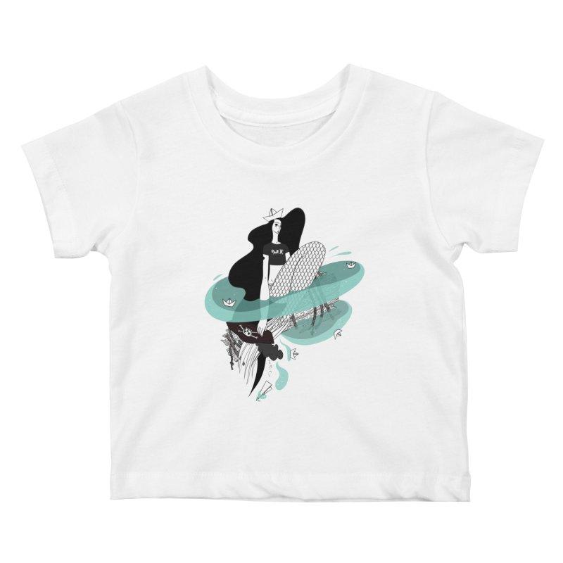Siren Of Solitude Vol. II by Sardine Kids Baby T-Shirt by Sardine