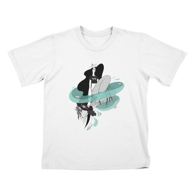 Siren Of Solitude Vol. II by Sardine Kids T-Shirt by Sardine