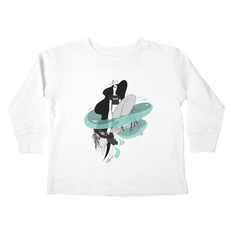 Siren Of Solitude Vol. II by Sardine Kids Toddler Longsleeve T-Shirt by Sardine