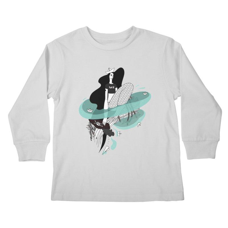 Siren Of Solitude Vol. II by Sardine Kids Longsleeve T-Shirt by Sardine