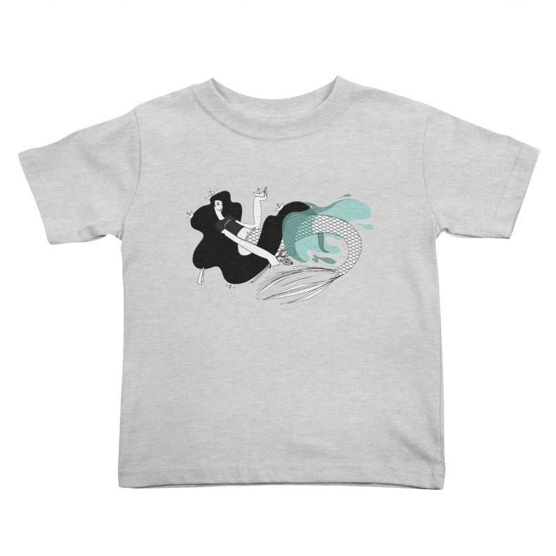 The Siren of Solitude Vol. III by Sardine Kids Toddler T-Shirt by Sardine