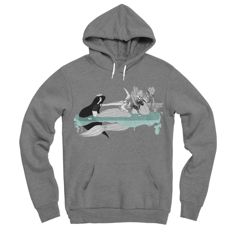 Serene Of Solitude Vol. IV by Sardine Men's Sponge Fleece Pullover Hoody by Sardine