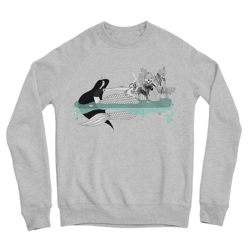 Serene Of Solitude Vol. IV by Sardine Men's Sponge Fleece Sweatshirt by Sardine