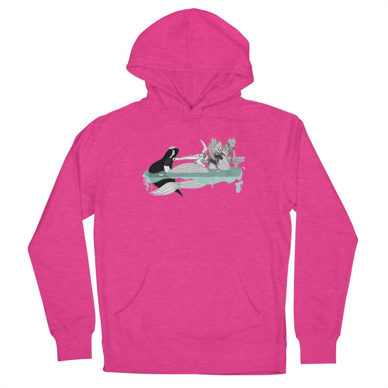 Serene Of Solitude Vol. IV by Sardine Women's French Terry Pullover Hoody by Sardine
