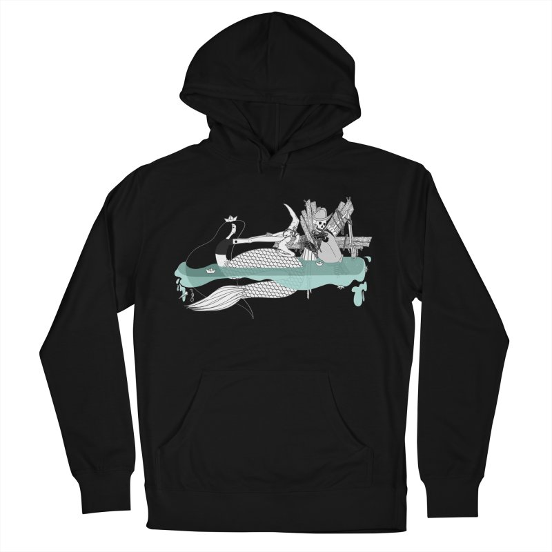 Serene Of Solitude Vol. IV by Sardine Men's French Terry Pullover Hoody by Sardine