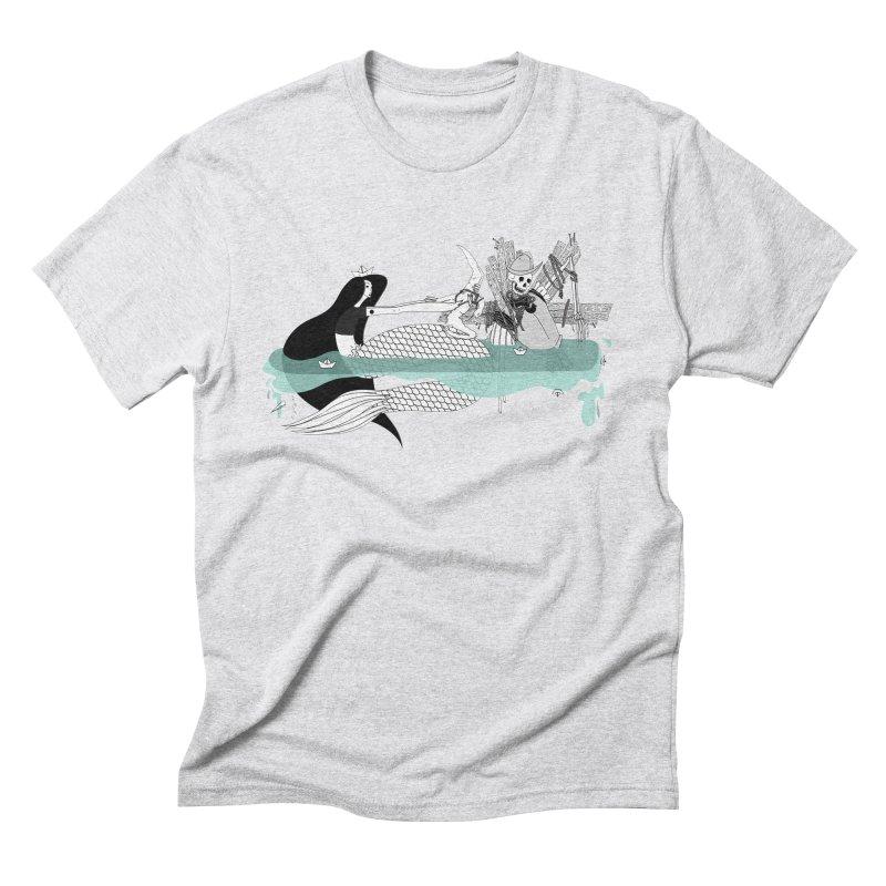 Serene Of Solitude Vol. IV by Sardine Men's Triblend T-Shirt by Sardine