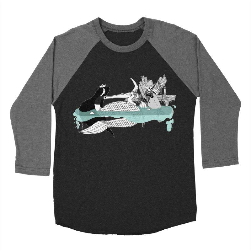 Serene Of Solitude Vol. IV by Sardine Women's Baseball Triblend Longsleeve T-Shirt by Sardine